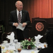 Dean Rogow Addresses the Guests
