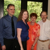 Heather Arvin and family