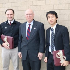 David Campbell, Dean Rogow, Tran Thang